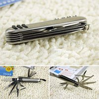 multi purpose knife - Portable Folding Multi purpose Knife Nickel Tool Outdoor Gear Necesary Camping Equipment OS401