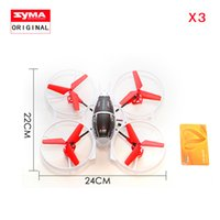 Wholesale Remote control plane SYMA X3 Model aircraft Channel G Remote Control RC Gyro UFO Helicopter RC Quadcopter Drone uav