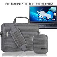 ativ tablet case - For Samsung Inch Notebook ATIV Book Series Laptop Shoilder Bag Carrying Case Briefcase Messenger with Handles