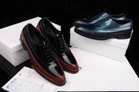 designer shoes for men - New Luxury Brand Men Business Shoes for Designer Fashion Genuine Leather Men Casual Shoes High Quality Men Oxfords