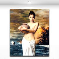 Cheap Body Art Oil Painting Best Print on Canvas Painting