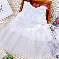 clothing manufacturers - 2015 new fashion hot sale Korean manufacturers children s clothing children dress children short sleeve bow dress girls skirt whol