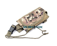 Wholesale New Desigh Airsoft Outdoor Tactical Combat Molle PRC MBITR Radio Pouch Type B High Quality Durable Nylon Waterproof Portable order lt no