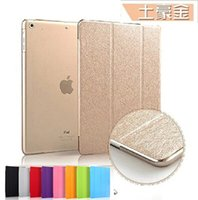 Wholesale 2015 Hot Slim Smart Case for ipad mini1 ipad2 air air Flip Leather Ultra Thin Smart Stand Cover Sleep Up