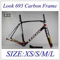 Wholesale Big Sale road carbon frame L00K road bicycle frame full carbon fiber road frame with carbon stem