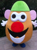 2016 New Taille adulte Mr. Potato Head Mascot Cartoon Toy Story Costume Outfit EPE