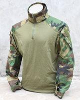 Cheap Wholesale-G TMC G3 Combat Shirt ( Woodland ) Tactical Shirt Free Shipping