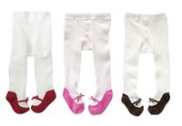 baby panty hose - 9pcs Cute girl Tights childrens pantyhose Cotton children stocking baby Panty hose