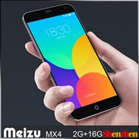 Wholesale Original Meizu MX4 Octa Core G LTE Cell Phones quot IPS x1152 OGS Screen Flyme4 MTK6595 Dual Camera MP G RAM G ROM mAh GPS