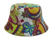 bulk yarn - bucket hats for men cap for men for women sun fishing hat sailor military Leopard Plain Dot floral summer Bulk bucket hats