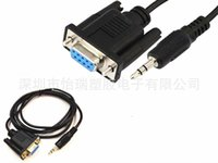 audio serial port - A serial port turn audio line DB9 mother to mm audio head DC p DB9F DC3 mm