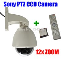 Wholesale ptz wireless controller kit TVL X Optical ZOOM Sony Effio e ccd Outdoor waterproof Mini PTZ Speed dome CCTV camera