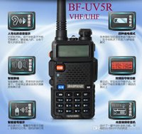 Wholesale Portable Radio BF UV5R Walkie Talkie W Dual Band VHF UHF Mhz Mhz Two Way Radio