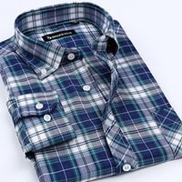 advance clean - Advanced oxford shirt fabrics strong comfortable absorbent anti wrinkle easy to clean breathable striped plaid shirt
