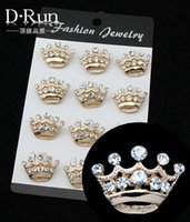 Cheap Free postage 2016 new party dress alloy crown brooch pin small collar AliExpress exclusive consignment sales