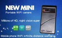 Wholesale New Mini WIFI P SPY HD DVR Night Vision Wide Angle Camera mini DV