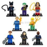 Wholesale XINH Catwoman Wonder Woman Black Widow Building Bricks Blocks Minifigures Sets Education Toys For Children