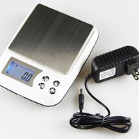 Cheap High Gram Digital Scales With Power Line Charger 0.01 Gram Precision For Jewelry Herb Weed Wax Scale Gold Kitchen Bake Diamond Accuracy