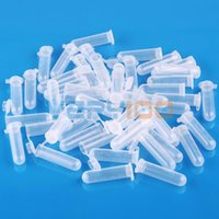 Wholesale 50pcs ml Plastic EP Vial Tube Sample Storage Container Crafts Fragrance Beads order lt no track