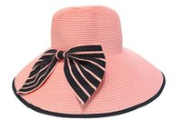 Wholesale summer beach sunhats fashion straw hats for women girl beach hats summer fashion hats