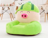 Wholesale 2015 Special Offer Hot Sale Cartoon Baby Sofa Children Sofa Chair Plush Fabric