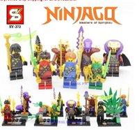 Wholesale SY272 Ninjago minifigures Jay Kai Zane Cole Garmadon building block Compatible