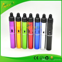 rasta - click N vape incense burner brazier portable Herbal Vaporizer Vaporizer weed smoking metal pipe rasta with built in Wind Proof Torch Lighter