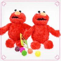 sesame street - Sesame Street Plush Dolls for Children Kawaii Elmo Stuffed Toys Birthday Gift Cheap Toys