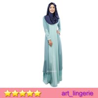 arab match - Malaysia Muslim women s clothing color dress code Woem Muslim Linen Long Dress Arab women robe Multi Color Matching High Quality Item No