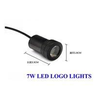Wholesale 2x LED Car ghost shadow light Universal Car LED laser projector logo light car door light