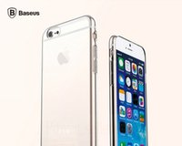 Wholesale 0 mm Ultra thin Original BASEUS Simple Series Soft TPU Gel Back Phone Case Cover For Apple iPhone G quot With Dust plug