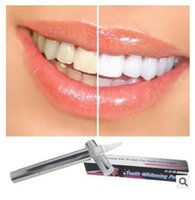 Wholesale 2015 HOT SALE new arrive Teeth Whitening Pen Tooth Gel Whitener Bleach Stain Eraser Remover Instant High efficiency