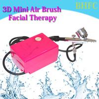 airbrush nails care - Mini AirBrush Skin Care makeup tool Facial Therapy Beauty Device Air brush Kit Spray Tattoo Nail Art Paint Gun Water Skin Instrument