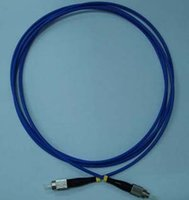 armored cable - Fiber Optical Armored Patch Cord Cable FC FC Singlemode Simplex mm m Blue Jacket