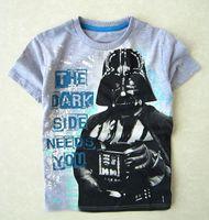 tunic shirt - DHL Fedex Free Boy clothing children clothing tunic Star Wars short sleeve t shirts for baby t shirts C001