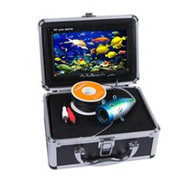 Wholesale 7 quot TFT M Cable LCD Monitor TVL Night Vision Fish Finder Portable Underwater Fishing Camera Fishing Finder