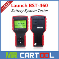 Code Reader audi starter - 100 Original LAUNCH BST Car Battery Tester BST460 for V V battery system and V V car battery starter charger DHL FEDEX Shipping