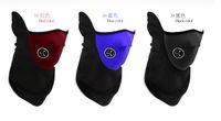Wholesale Neoprene Neck Warm Half Face Mask Winter Veil Windproof For Sport Bike Bicycle Motorcycle Ski Snowboard Outdoor Mask Men Women DHL Balaclava