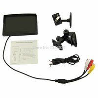 camera shop - Free shopping Inch TFT LCD Car Color Rear View Monitor Parking Backup Camera DVD Bracket For DVD VCD Camera