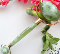 Joli vert Prix-nouveau style Jolie jade vert visage Massager / Rouleau 6 pouces