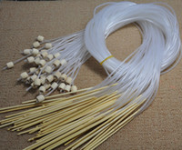 afghan yarn - 12PCS m Afghan Whiten Bamboo Needle Crochet Hook Weave Yarn Crafting Knitting Needle Set