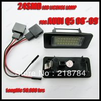 Wholesale SMD LED License Plate Lamp lighting for Audi Q5 Canbus and error free