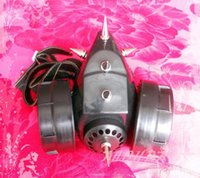 Wholesale Black Spike Cyber Respirator Mask Rave Festival Steampunk Cos play Accessories