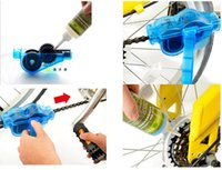 Wholesale Brand new Bicycle Chain Cleaner Cycling Bike Machine Brushes Scrubber Wash Tool Kit mountaineer bicycle chain cleaner Tool kits