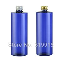 plastic shampoo bottles - ml pc blue empty round bottles cosmetic containers DIY oil bottle plastic with shampoo
