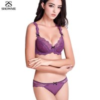 Marque de luxe de femmes Set Bra ultraminces Bras dentelle et Panty ensemble de lingerie sexy ajustement Sous Transparent Set Bra