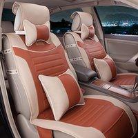 upholstery leather - Four Seasons General car seat upholstery leather seat covers autumn Long lines Sagitar Tiida Teana Mai Teng Yi Tiger