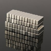 Wholesale 50 N35 x3x2mm NdFeB Rare Earth Strong Block Magnet Magnetic Neodymium DIY