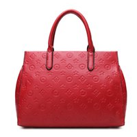 red patent leather handbag - Hot sale Light Patent leather bags European new designer Handbags women famous brand luxury bag Classic Shoulder Bags totes bags purse