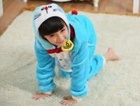 pajamas for children - Children s cartoon conjoined pajamas sleepers pajamas for children with Cotton claws shoes